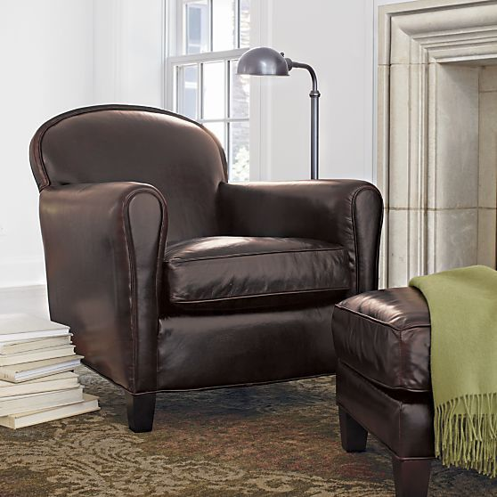 eiffel leather chair crate and barrel in 2019 ideas living room rh pinterest com