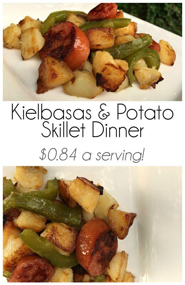 kielbasa and potato skillet recipe mom needs chocolate
