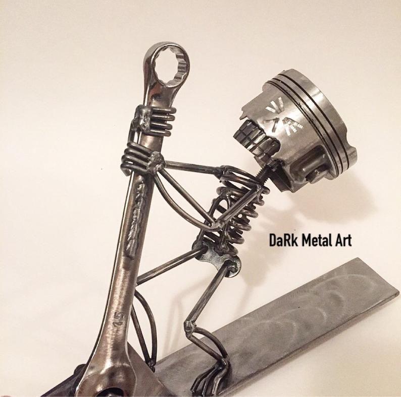 Bonez luomo pratico etsy in 2020 metal art welded