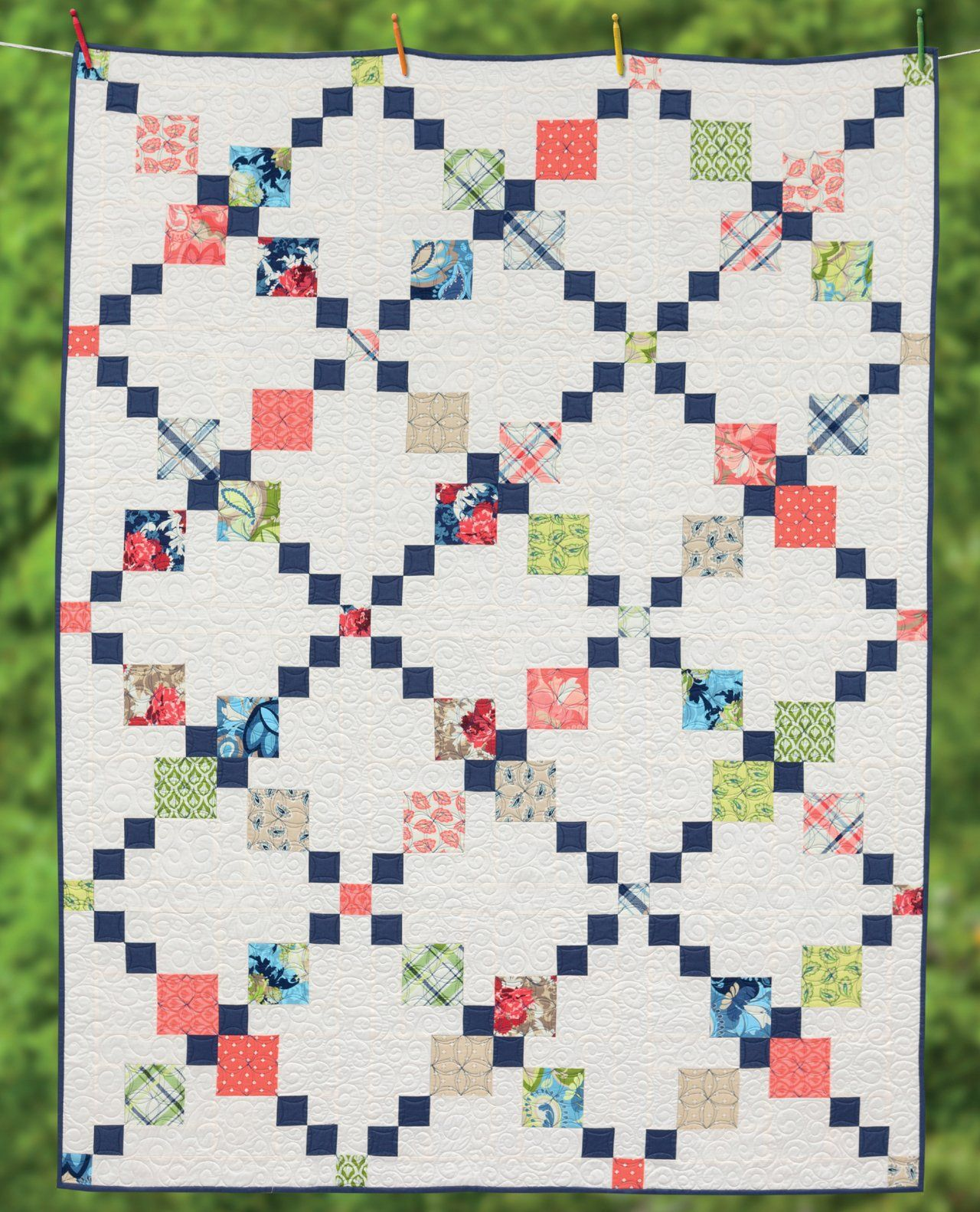 Irish Chain Quilts: Contemporary Twists on a Classic Design ... : irish chain baby quilt pattern - Adamdwight.com