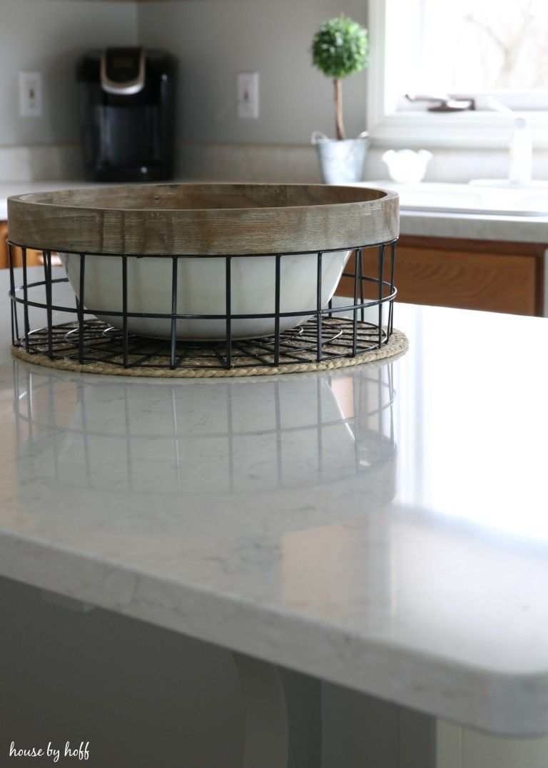 the state of the kitchen our improved kitchen island kitchen top rh pinterest com
