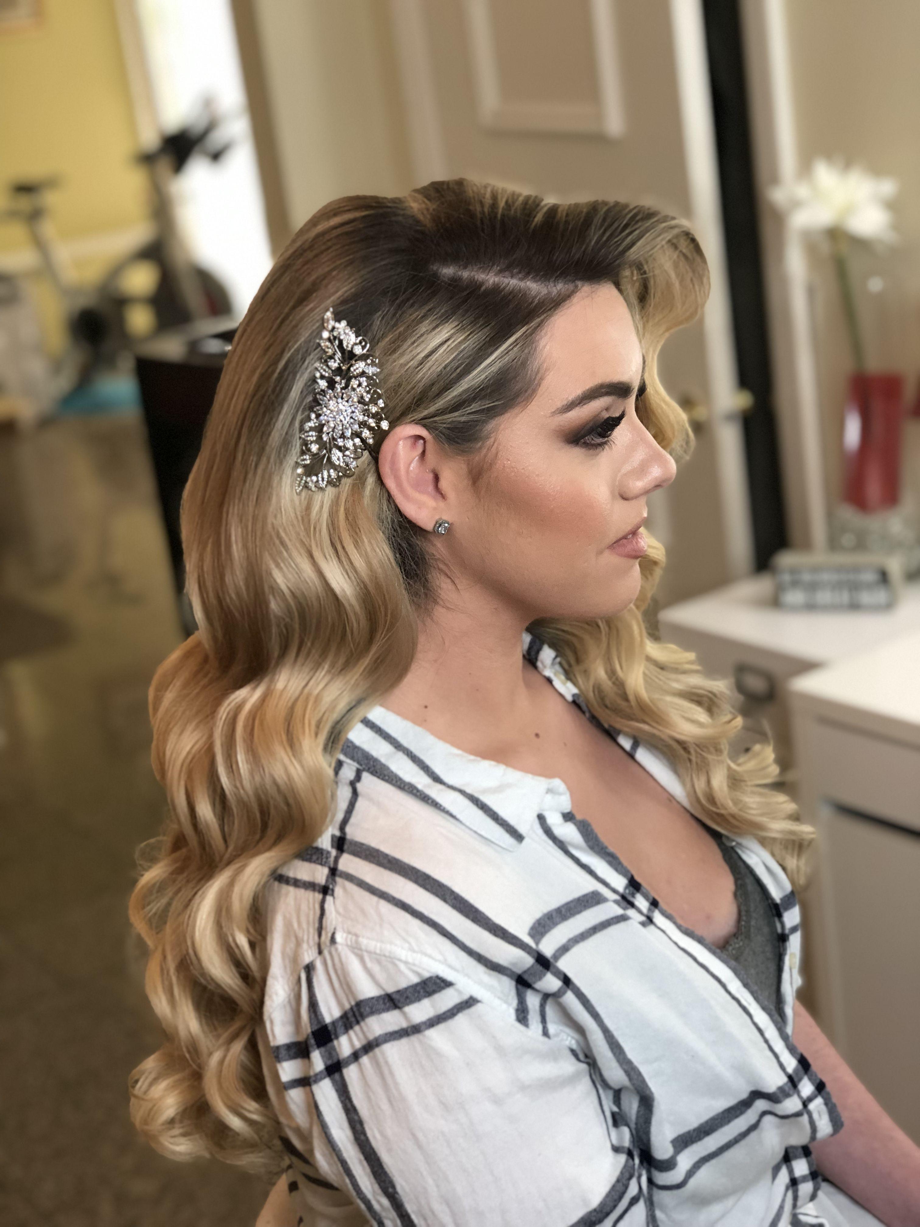 RETRO HAIRSTYLES  Long hair styles, Bridesmaid hair straight