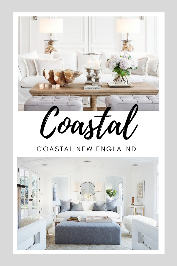 Favorite Finds Coastal New England In 2020 New England Decor Coastal Style Living Room New England Homes