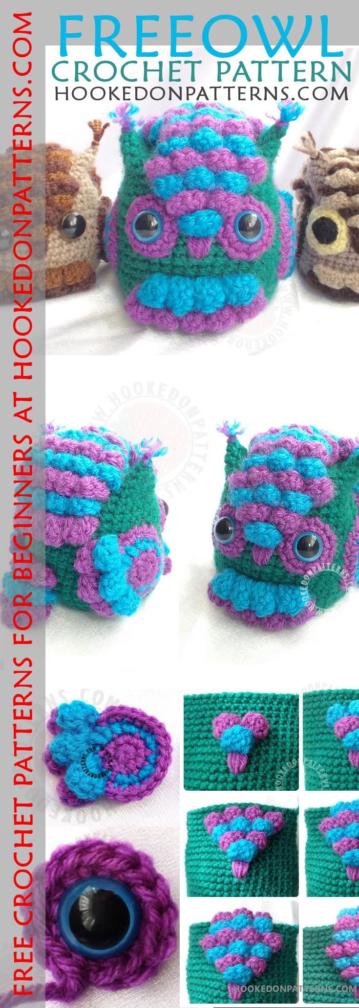 Free Owl Crochet Pattern -