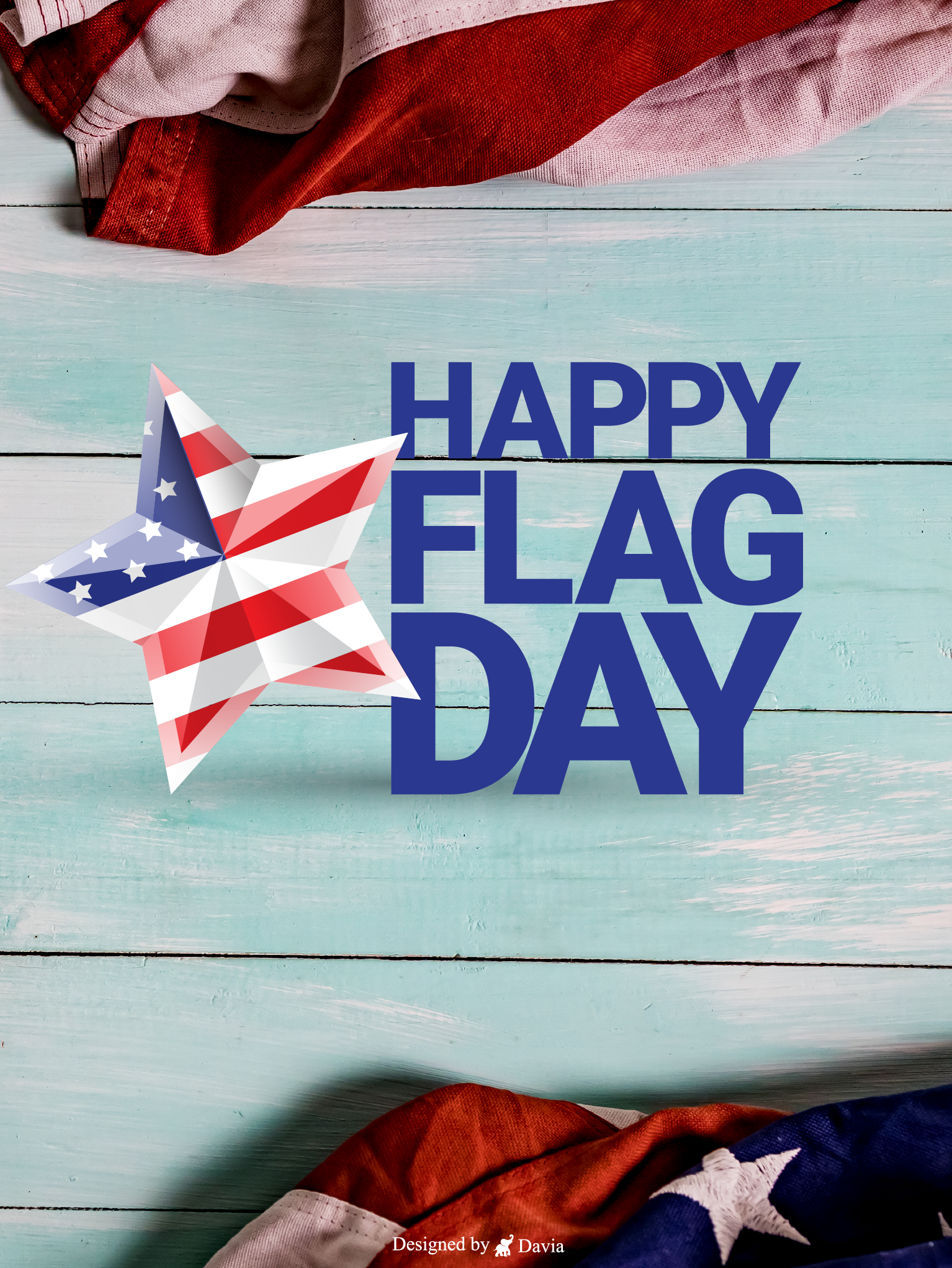 Pin On Flag Day Cards