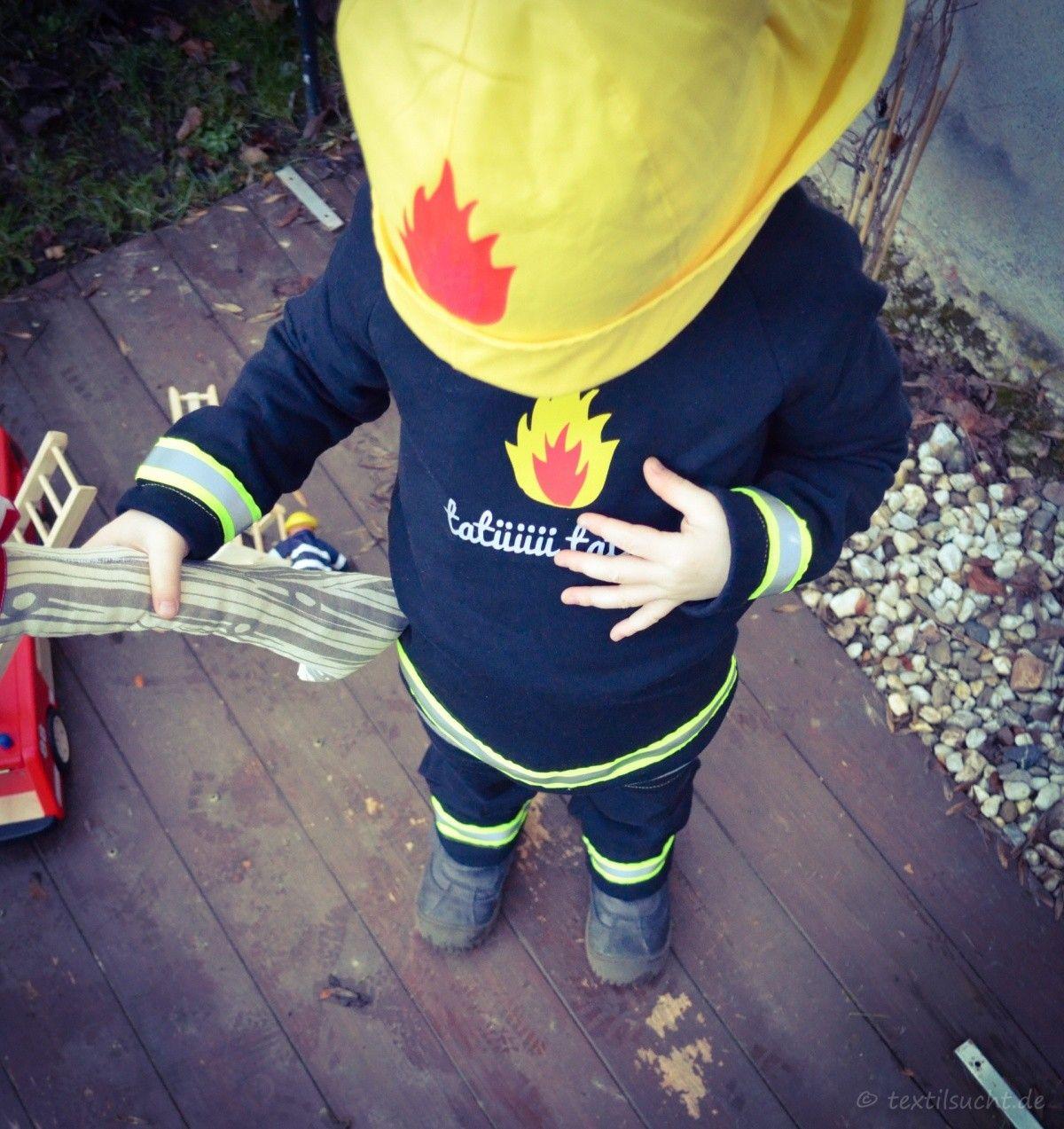 Schnäppchen für Mode am besten bewerteten neuesten das billigste Faschingskostüm Feuerwehrmann nähen | Nähen ...