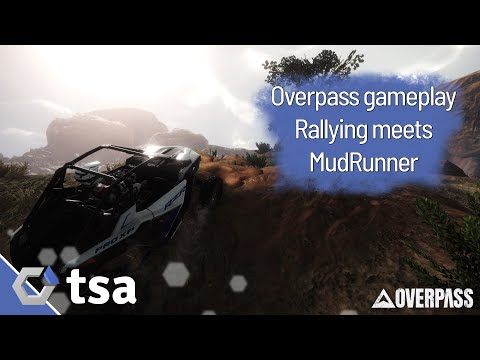 Overpass Is An Off Road Racer Than Channels Dirt Rally And Mudrunner Thesixthaxis In 2020 Rally Rallying Dirt