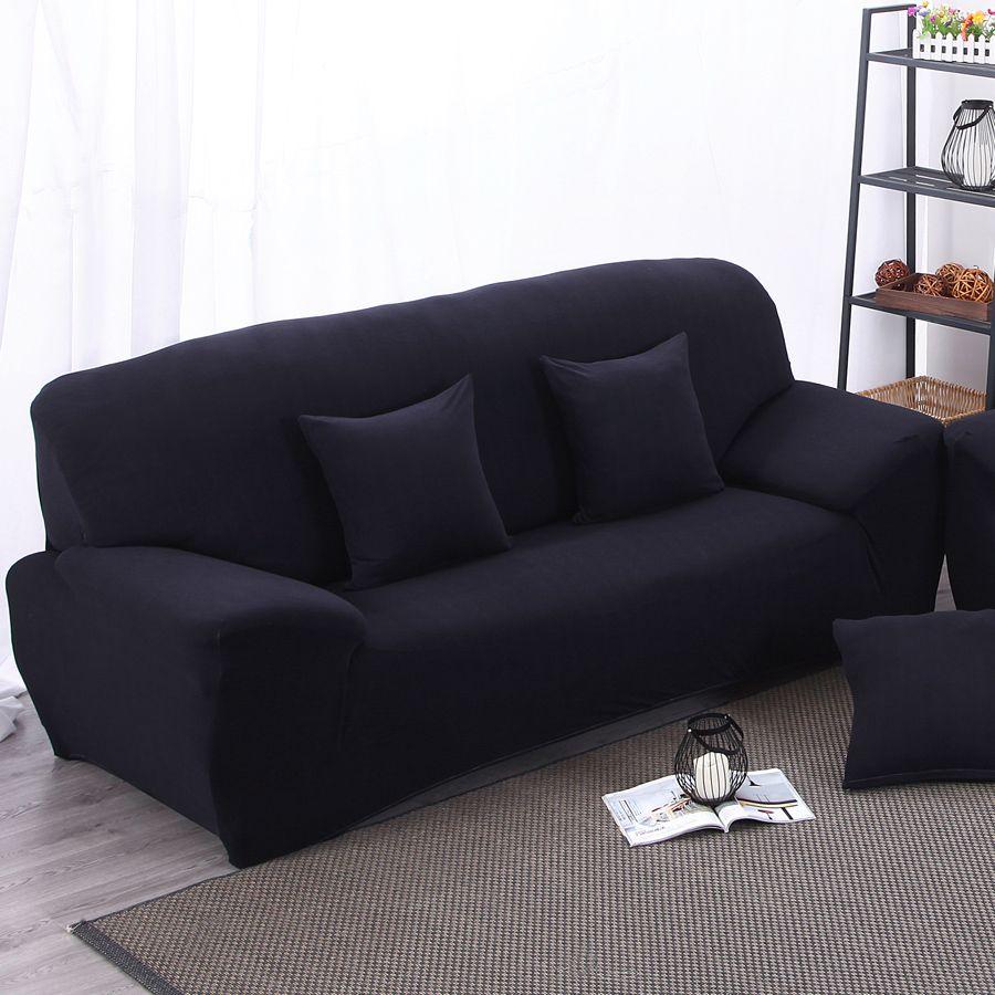 elastic sofa cover universal wrap the entire sofa slipcover solid rh pinterest com