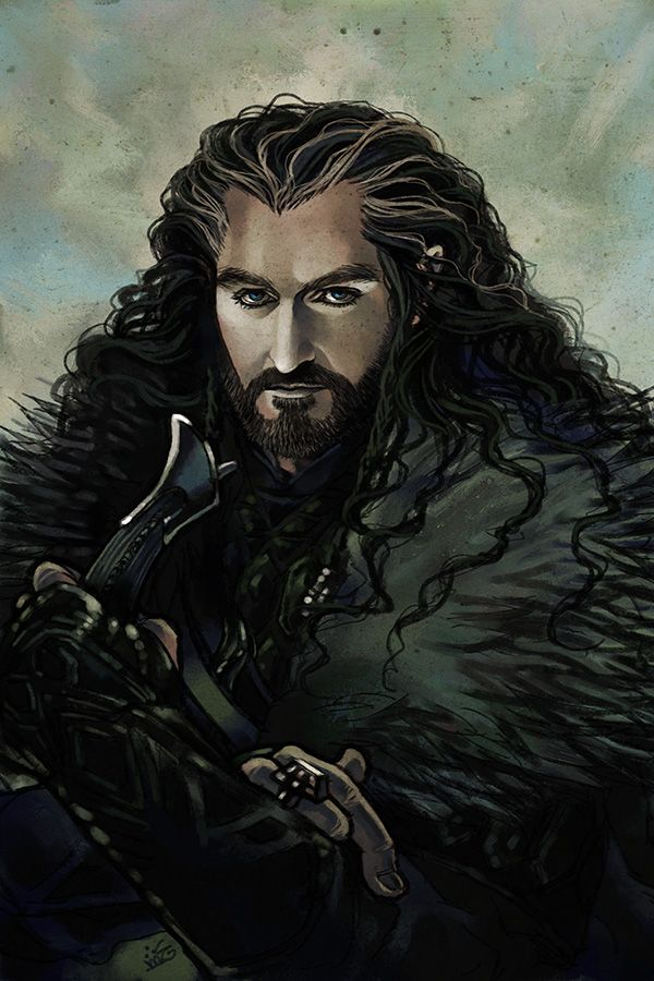 Thorin Oakenshield by ~Maelstromarts on deviantART
