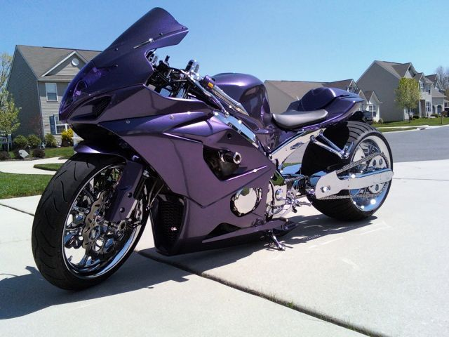 Gsxr 1000 All Custom And Chrome For Sale Or Trade Gsxr 1000 Custom Sport Bikes Custom Street Bikes