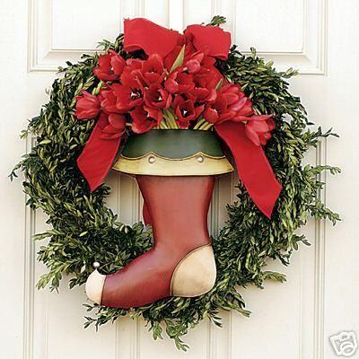 Southern Living at Home HOLIDAY DOOR BUCKET * CHRISTMAS Holidays