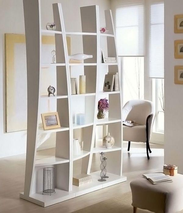 Bookshelf Room Divider Mirror Dividers Diy