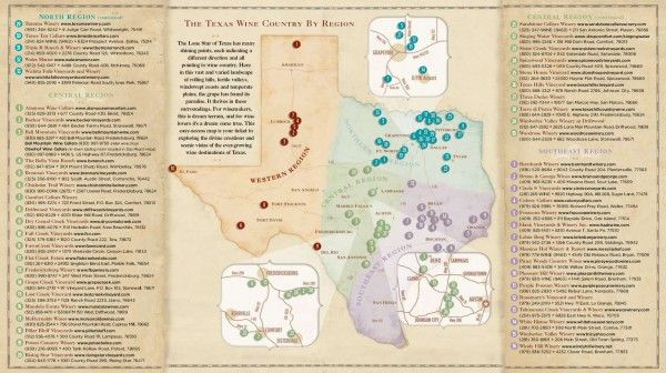 Map Of Texas Wineries.Texas Wineries Map Business Ideas 2013