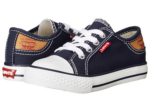 Levi's® Kids Stan Buck (Infant/Toddler/Little Kid) Navy/Brown - Zappos.com Free Shipping BOTH Ways