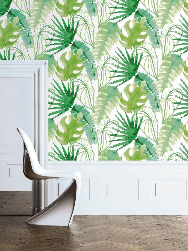 Woontrends 2016 Botanisch behang - Inspiratie Interieur   Pinterest ...