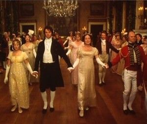 Pride and Prejudice dances. They were terrible but also quite cute :')