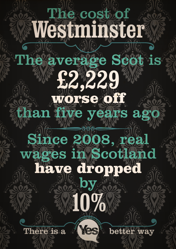 1a7231f62a The average scot is worse off than 5 years ago. Westminster isn't working