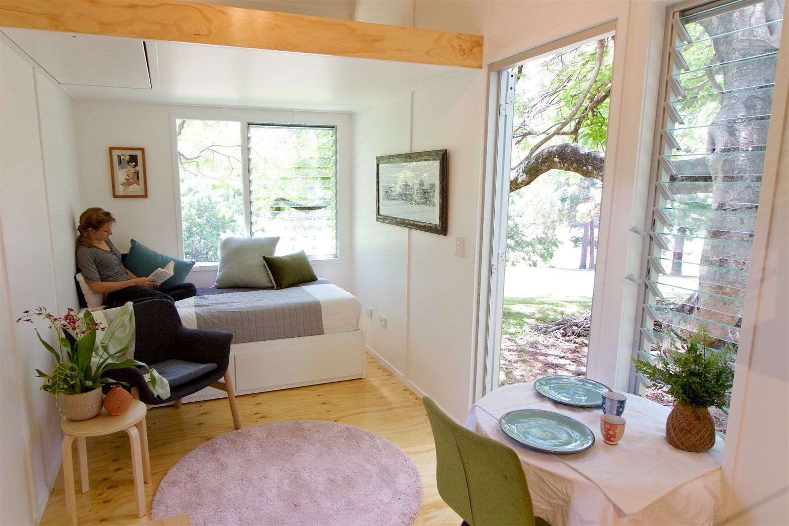 Photo 2 Of 10 In This Midcentury Inspired Tiny House