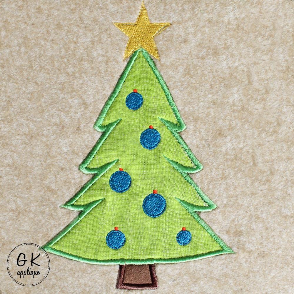 Set Of 3 Christmas Tree Applique Designs Xmas Machine Etsy In 2020 Applique Designs Machine Embroidery Designs Christmas Applique