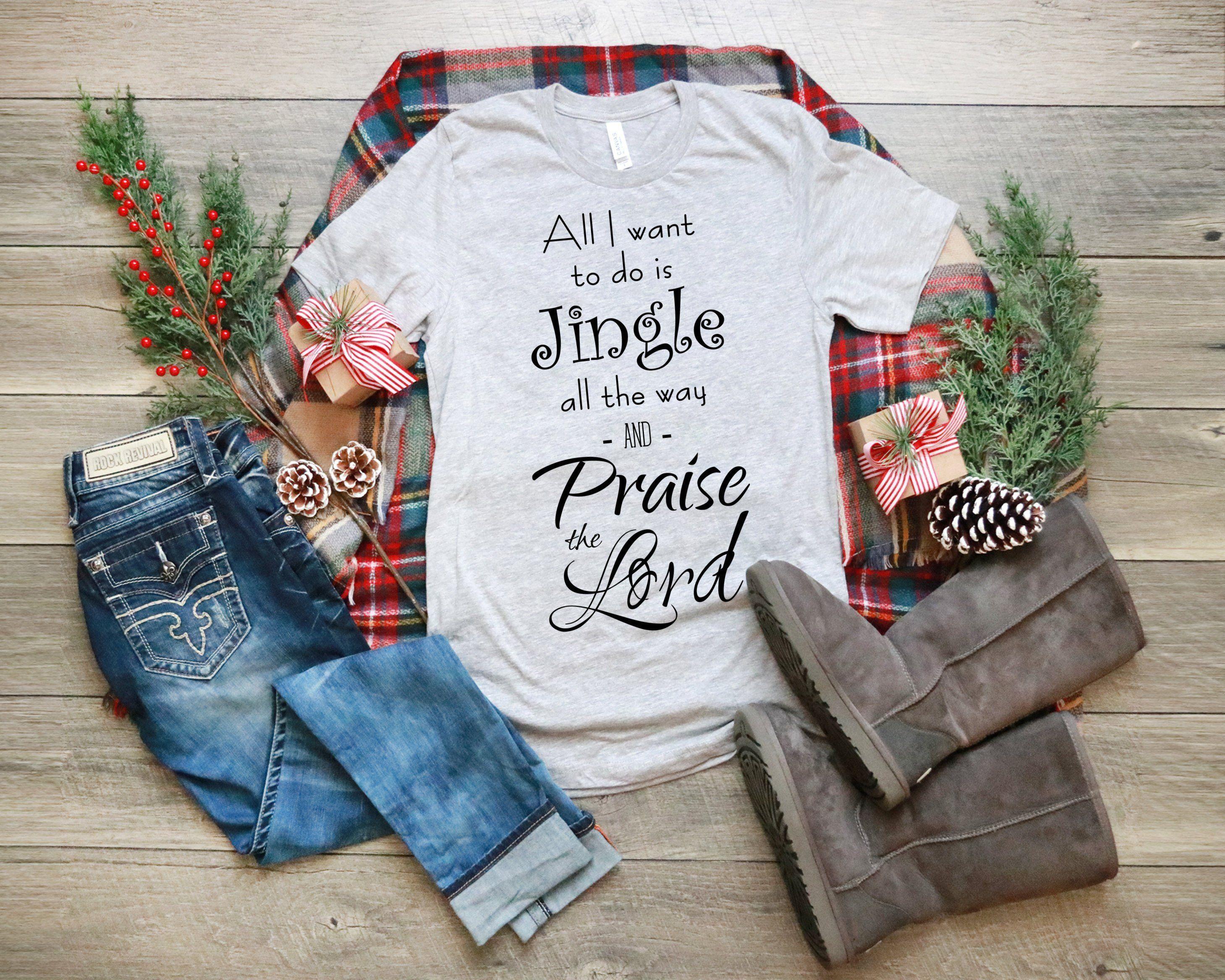 New to my etsy shop Christmas TShirt Christian