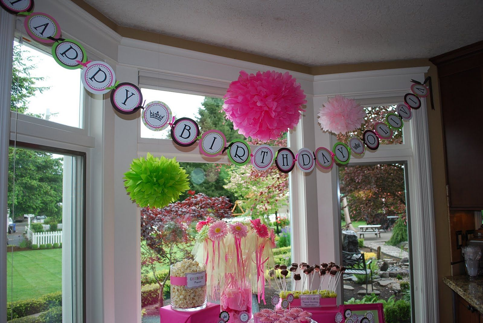 outdoor birthday party ideas for girls 1st Birthday Party Ideas