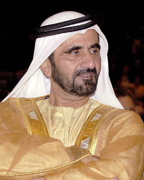 Sheikh Mohammed bin Rashid Al Maktoum (Arabic محمد بن راشد آل مكتوم; Muḥammad bin Rāshid al Maktūm), also Sheikh Mohammed, (born July 22, 1949), is the Prime Minister and Vice President of the United Arab Emirates (UAE), and constitutional monarch of Dubai