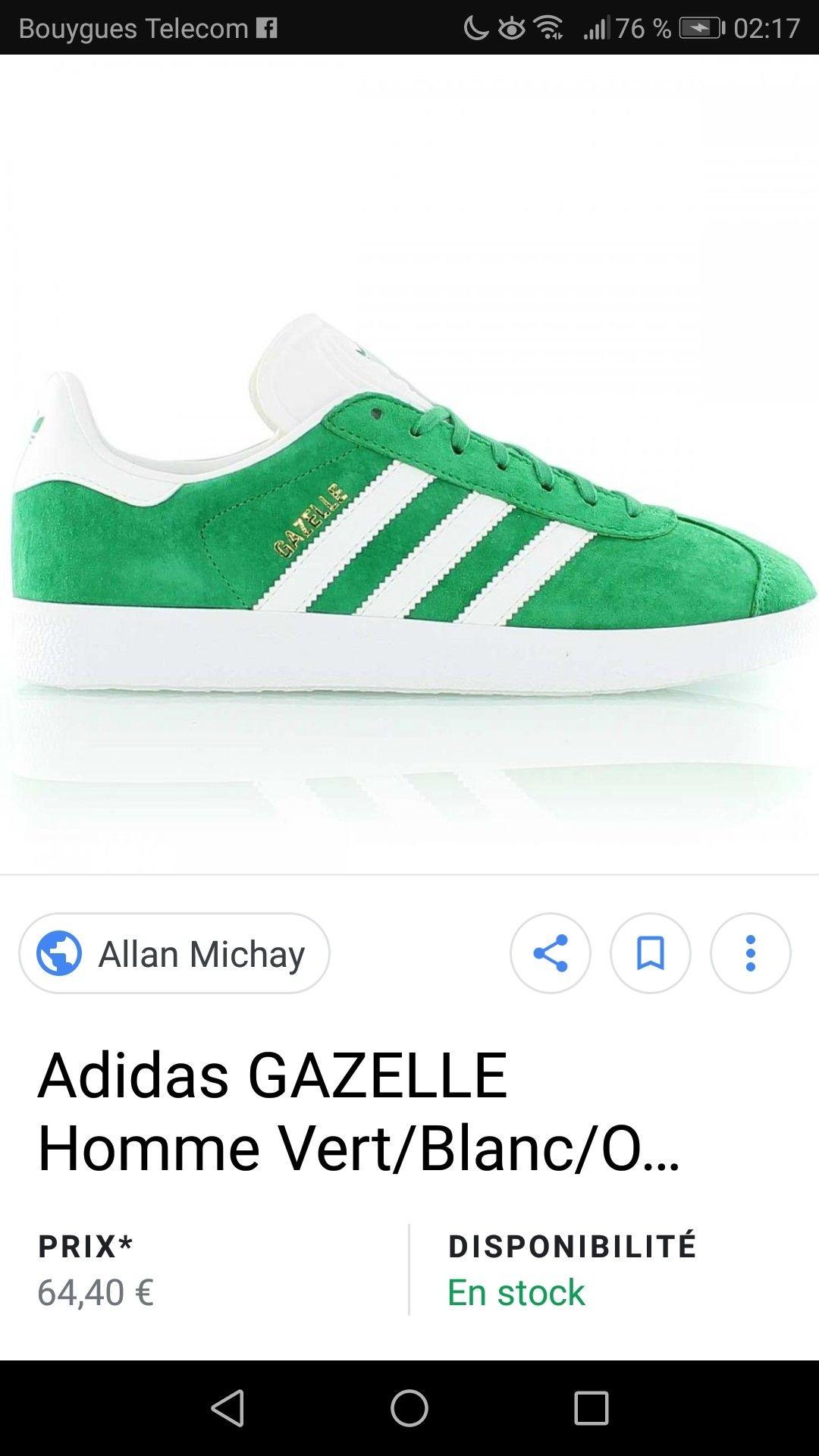 Pin by Konrad B. on Chaussures   Shoes, Adidas gazelle, Adidas ...