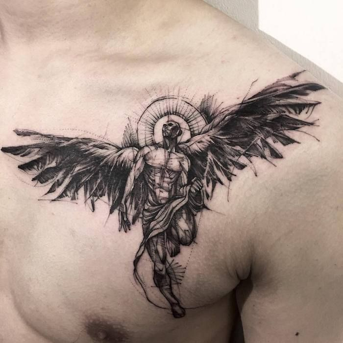 Photo of ▷ 1001 + coole und inspirierende Flügel Tattoo Designs und ihre Beudetungen