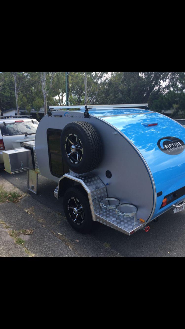 Riptide Campers- Tsunami off-road Teardrop trailer | campers | Pinterest