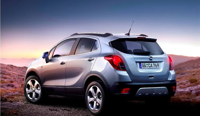 Mokka New Small Suv By Opel Opel Cars Opel Mokka Small Suv Suv