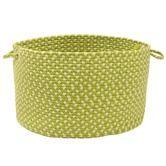 Montego Lime Twist Utility Basket