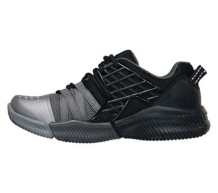 eb75d3816eff4 Skechers Kids' Iso-Flex Rapid Speed Sneaker Pre/Grade School Shoes (Black/ Charcoal)