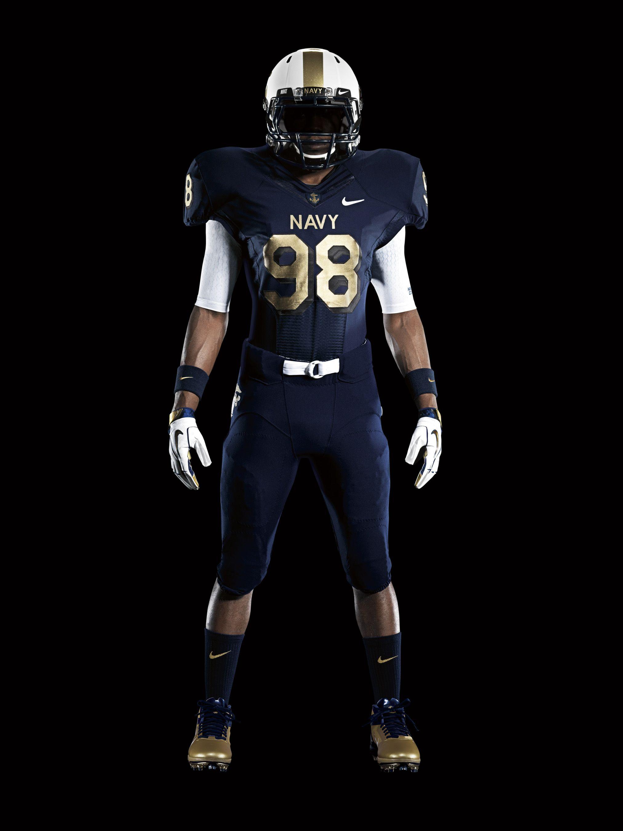 2011 Nike Pro Combat Uniform System Page 4 Football Outfits Army Vs Navy Football Navy Football