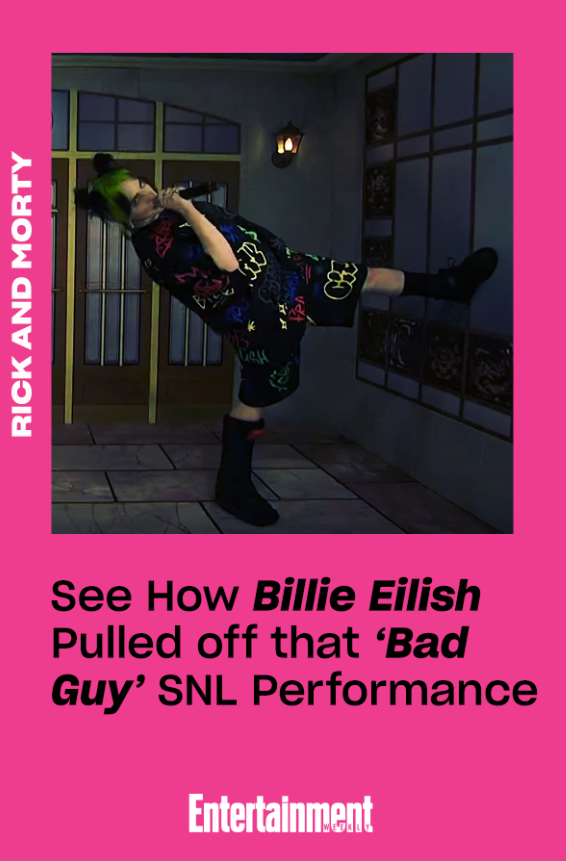 See how Billie Eilish pulled off that twisting, turning