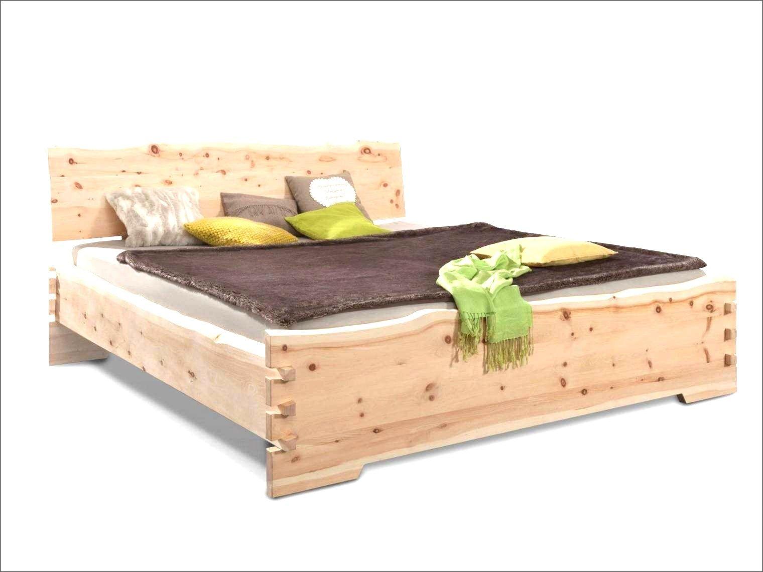 Palettenbett 140x200 Anleitung Zirbenholz Bett