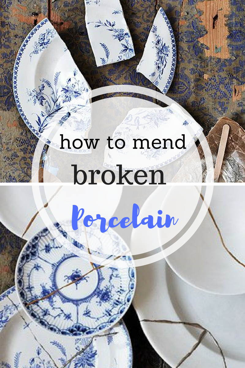 How to Mend Porcelain, How to Fix Broken Dishes. Fixing Broken ...