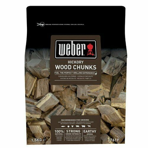 17619 Weber Wood Chunks Hickoryholz