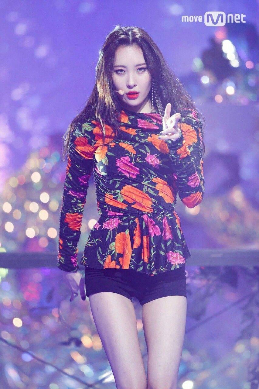 Sunmi Gashina Live On M Countdown Kpop Girls Wonder Girls Members Kpop Fashion