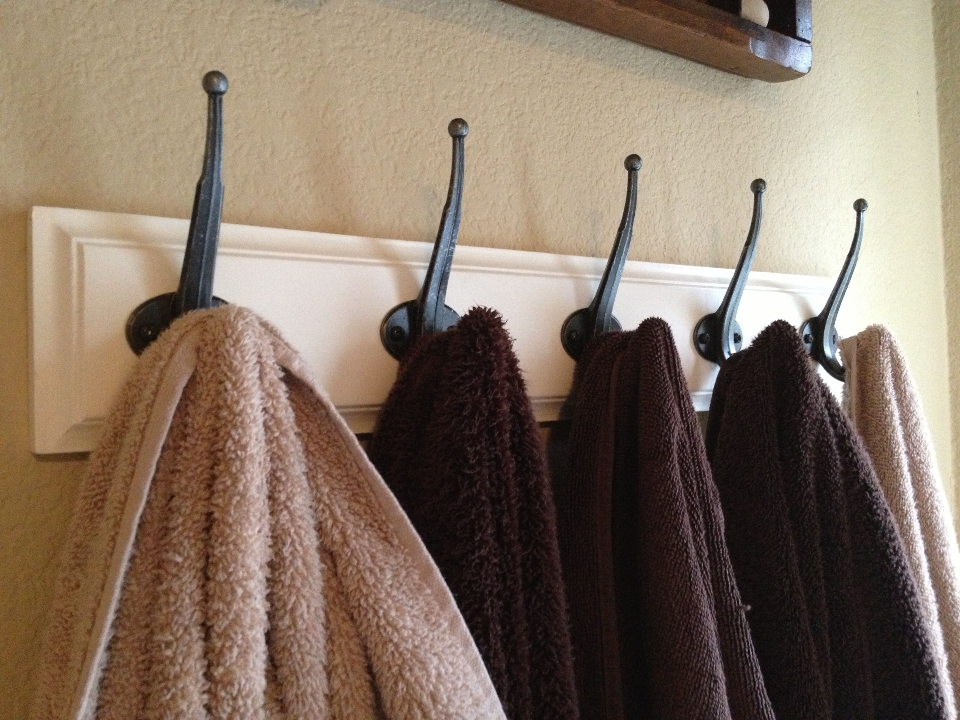 Kids bathroom towel hooks For the home Bathrooms Pinterest