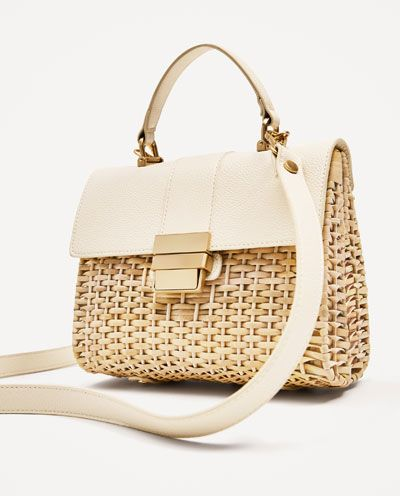 Image 4 Of Braided Crossbody Bag From Zara