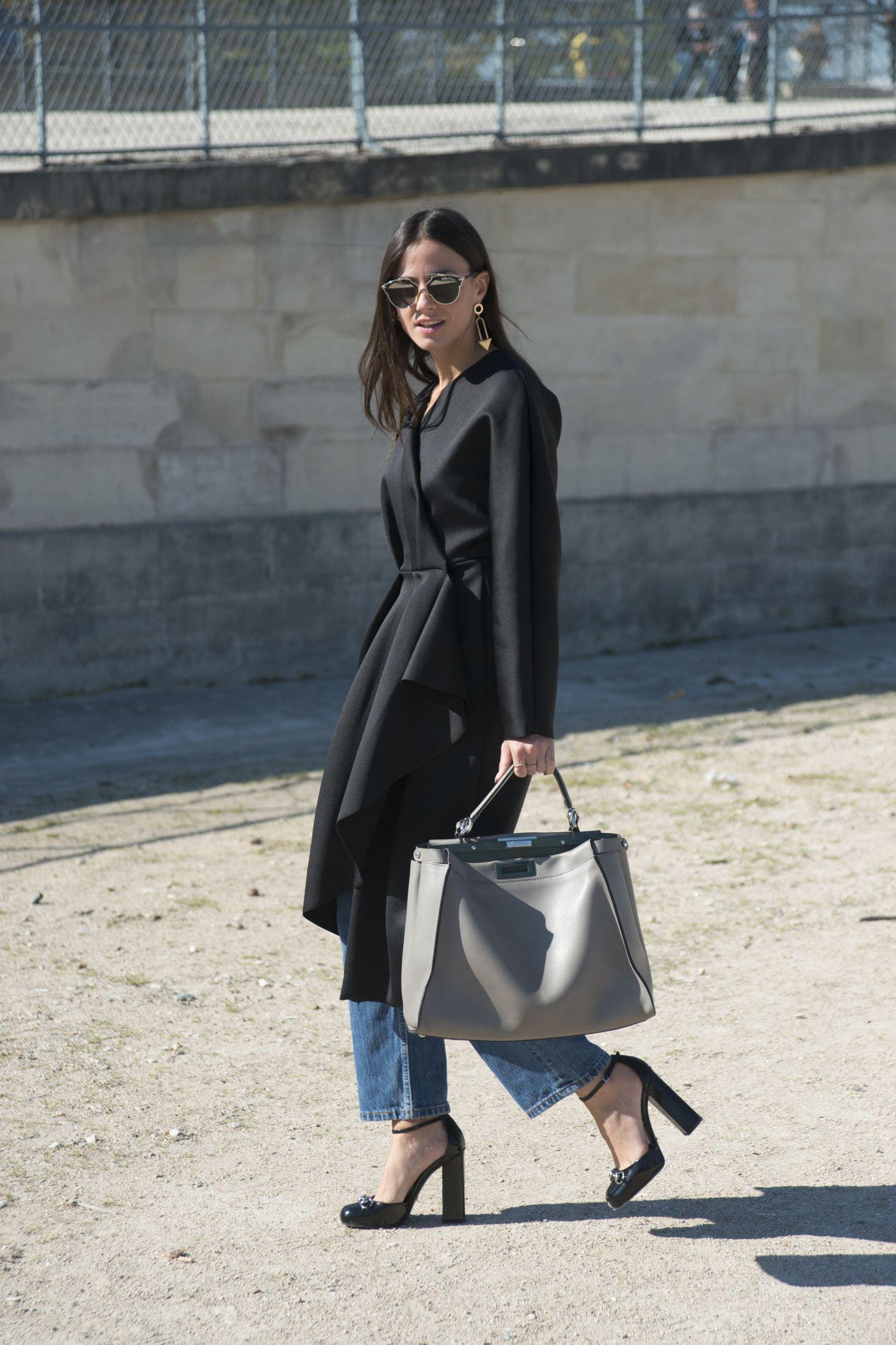 Zina Charkoplia - Paris Fashion Week Spring-Summer 2016 #PFW #StreetStyle