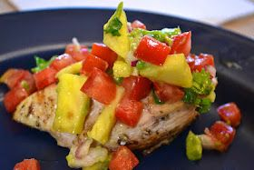 """Point-less"" Meals: Grilled Caribbean Lime Chicken with Pineapple Salsa"