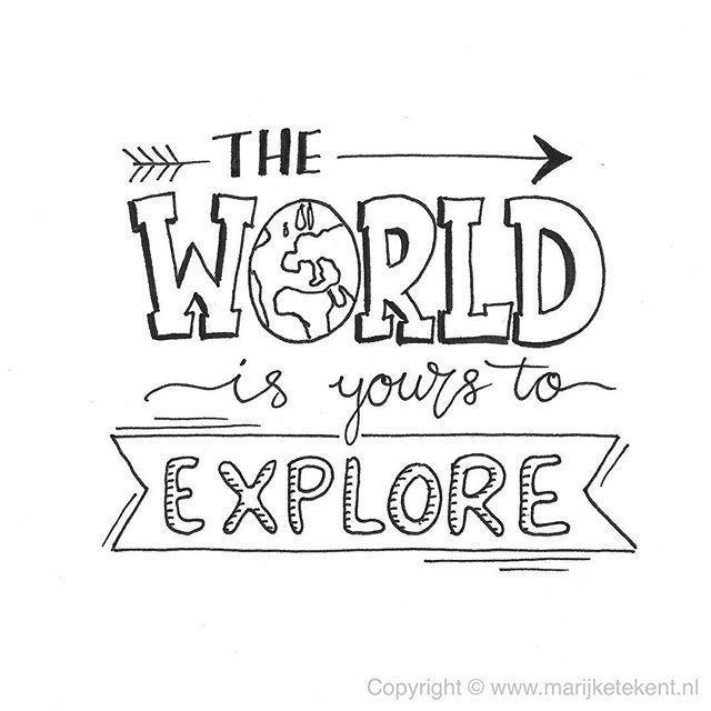 die Welt gehört dir | Zitate | Wörter | Inspirationswörter | Inspiration … – …