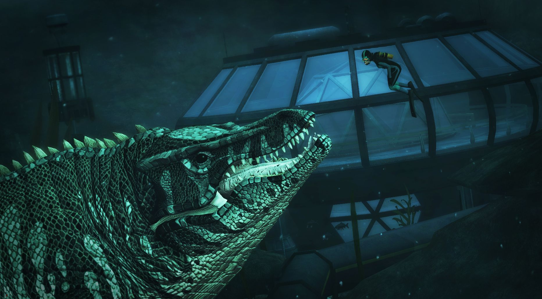 Mosasaurus Underwater Adventure
