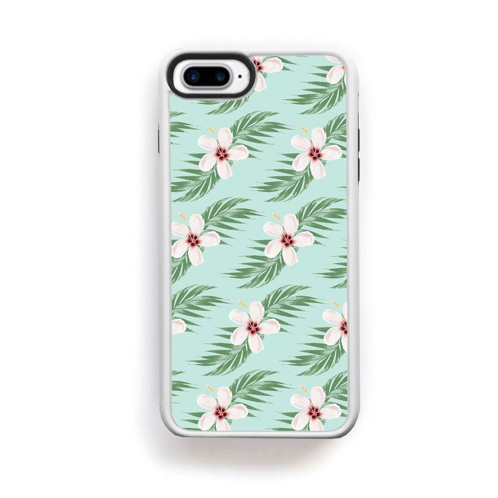 Buy hawaiian pink flowers with palm leaves on blue for iphone 7 plus buy hawaiian pink flowers with palm leaves on blue for iphone 7 plus at ettuet for only 3500 izmirmasajfo