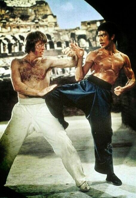 Bruce Lee Vs Chuck Norris So My Hubby Got Me To Watch This For The