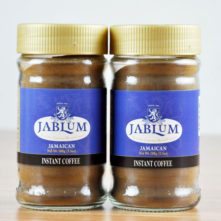 Jablum instant coffee Instant coffee, Blue mountain