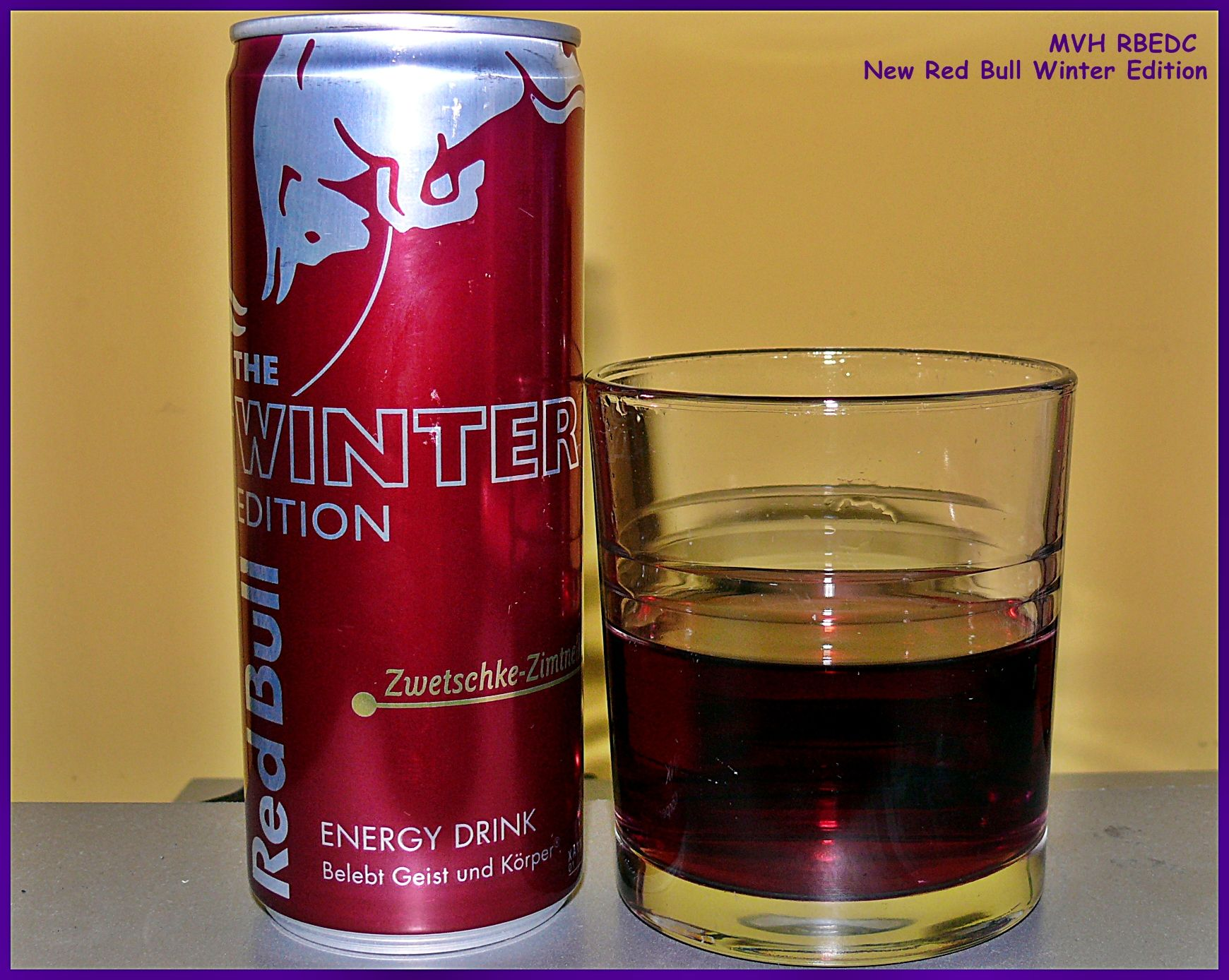 new red bull winter edition plum cinnamon flavor fine. Black Bedroom Furniture Sets. Home Design Ideas