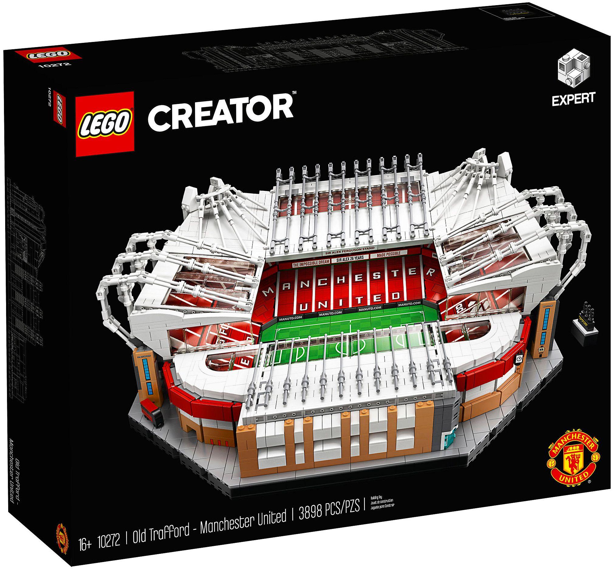 NOUVEAU /& NEUF dans sa boîte LEGO Creator 10272 Old Trafford Manchester United Stade