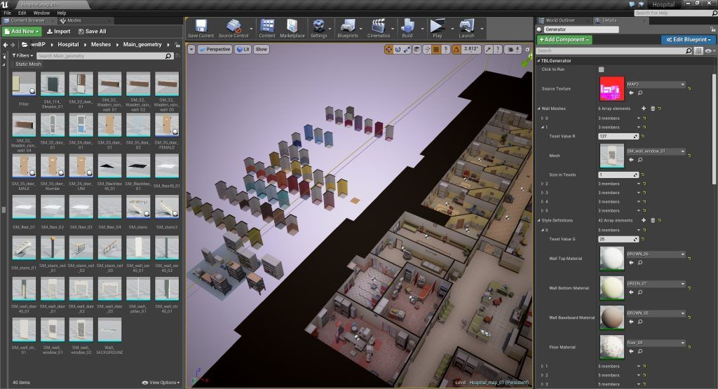 Studying Isometric Perspective with UE4 | UE4